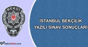 istanbul yazılı sınav sonuçları