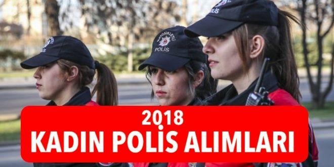 2018 kadin polis alimlari