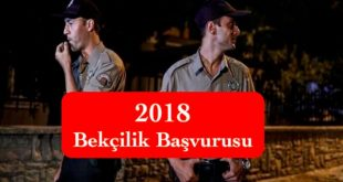 bekcilik basvusurus 2018