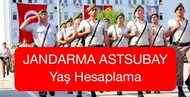 jandarma astsubay yas hesaplama