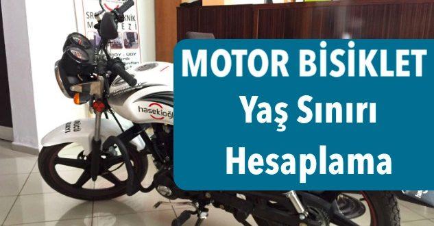 motorbisiklet yas siniri