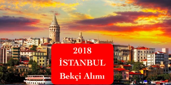 2018 istanbul bekci alimi
