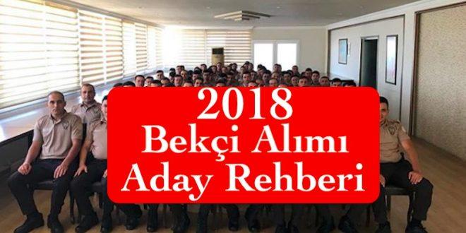 2018 bekci alimi aday rehberi
