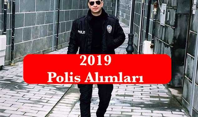 2019 polis alimlari