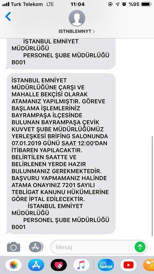 istanbul atama