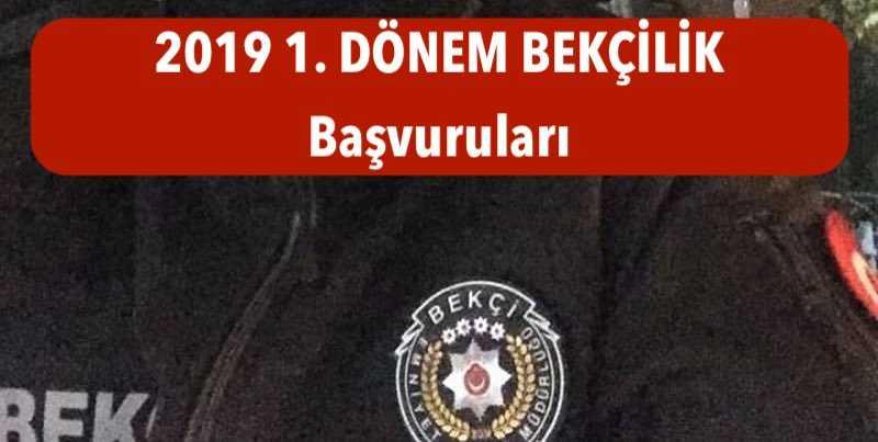 2019 1donem bekcilik basvurulari