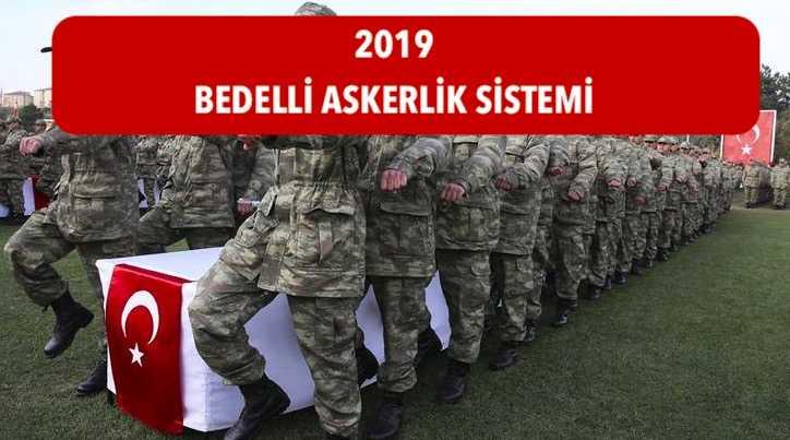 2019 bedelli askerlik sistemi