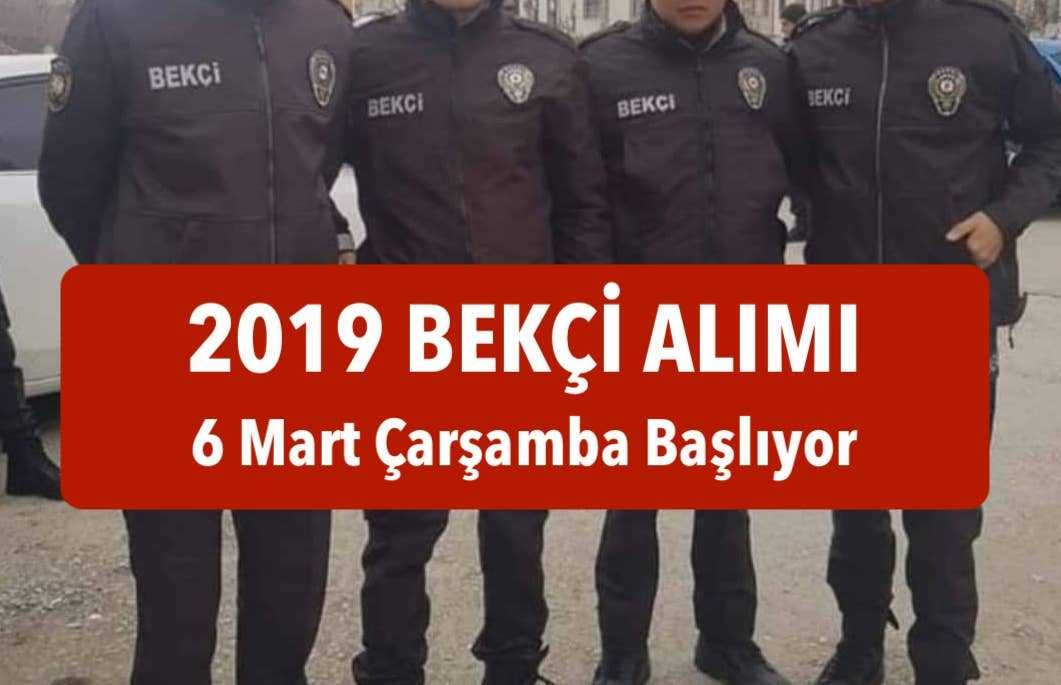 2019 bekci alimi 6 mart basliyor