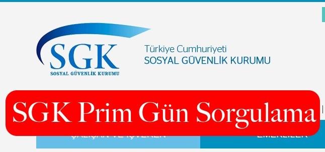 SGK Prim Gün Sorgulama