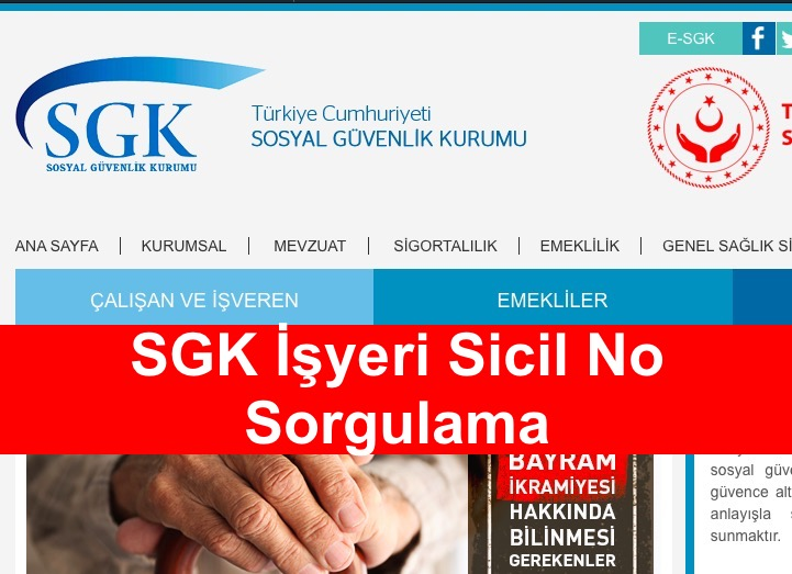 SGK İşyeri Sicil No Sorgulama