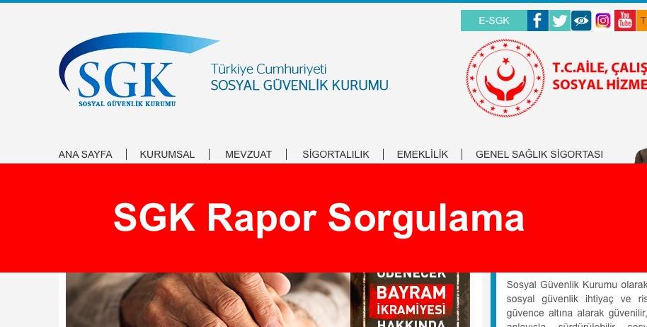 SGK Rapor Sorgulama