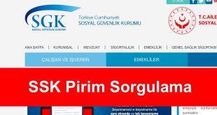 SSK Pirim Sorgulama