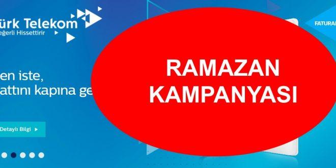 Türk Telekom 2020 Ramazan Kampanyası Hediyesi