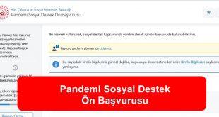 Turkiye.gov .tr Yardım Sosyal Destek Başvuruları Başladı