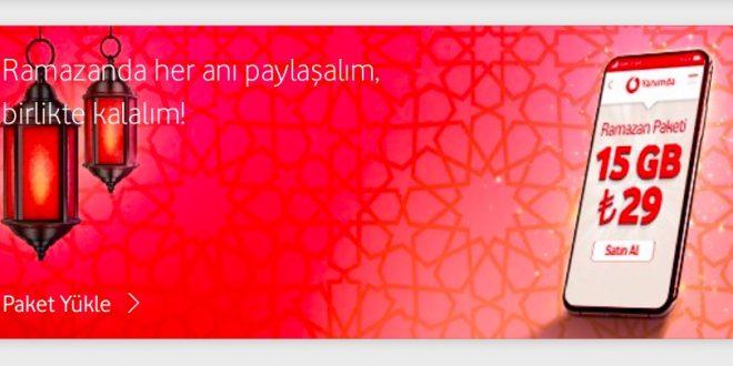 Vodafone 2020 Ramazan Kampanyası ve Paketi 1