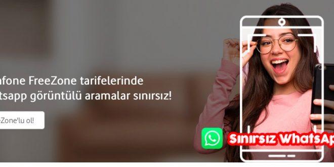 Vodafone Sınırsız WhatsApp