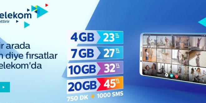 Faturasız Fırsat Paketi 7GB