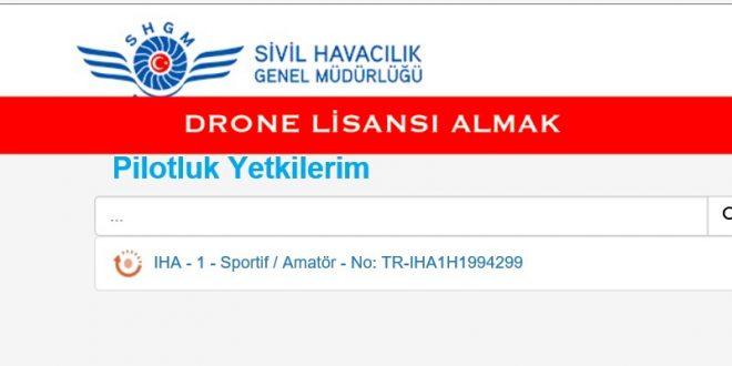 drone lisansı almak