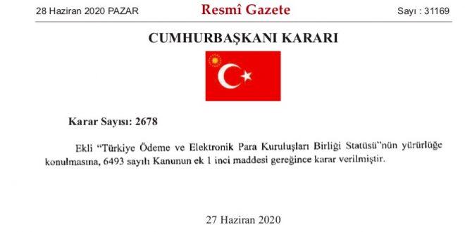 Türkiye Ödeme ve Elektronik Para Kuruluşları Birliği
