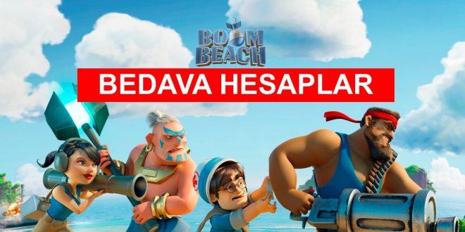 Bedava Boom Beach Hesap