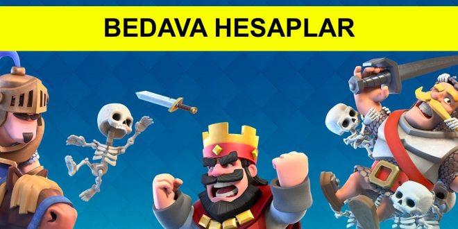 Clash Royale Bedava Hesaplar