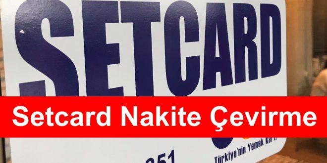 Setcard Nakite Çevirme
