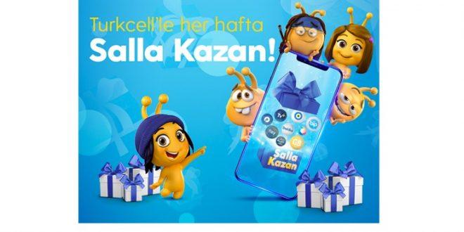 Turkcell Salla Kazan Hediyeleri