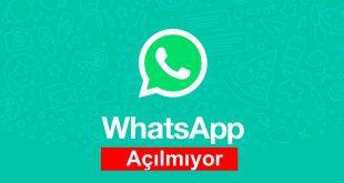 WhatsApp Web Açılmıyor