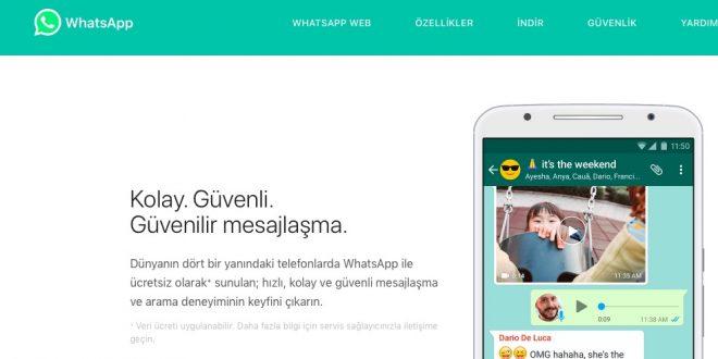 WhatsApp müşteri hizmetleri