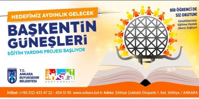 Ankara Büyükşehir Belediyesi Burs Başvurusu