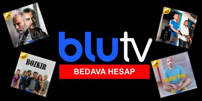Bedava BluTV Hesapları