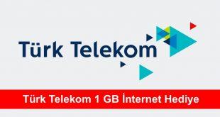 Türk Telekom 1 GB İnternet Hediye