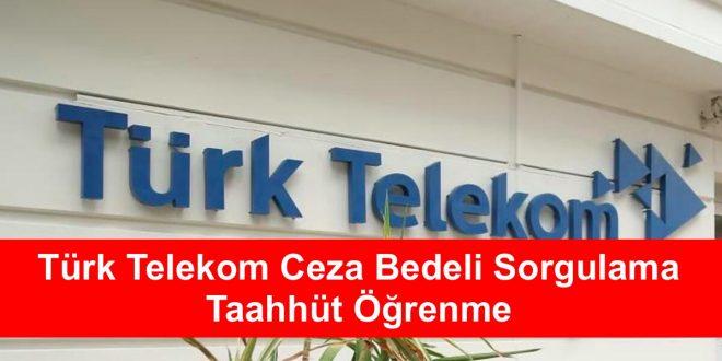 Türk Telekom Ceza Bedeli