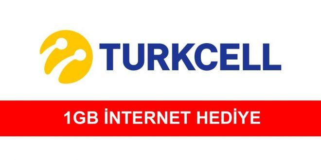 Turkcell 1 GB İnternet Hediye