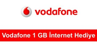 Vodafone 1 GB İnternet Hediye