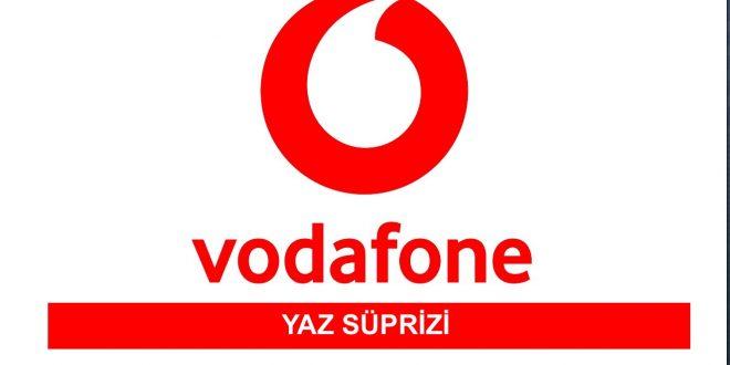 Vodafone Yaz Süprizi Bedava Hediye İnternet