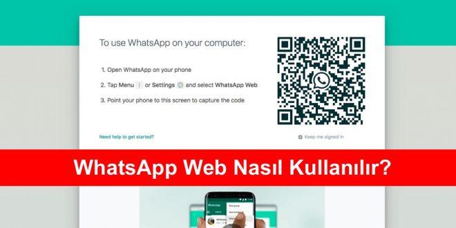 WhatsApp Web nasıl