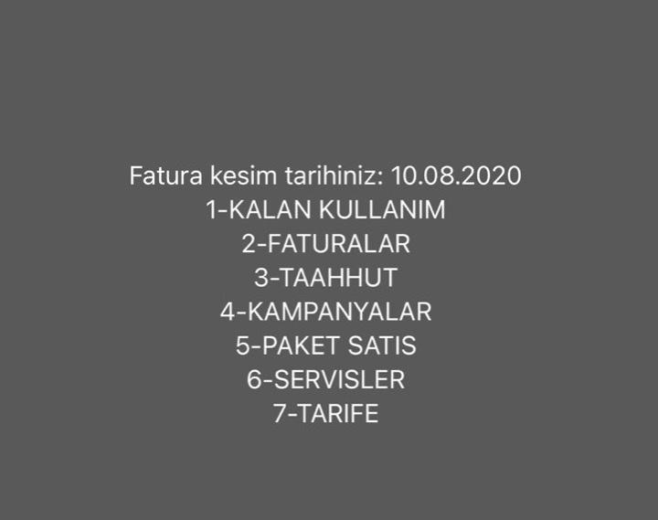 türk telekom hesap kesim