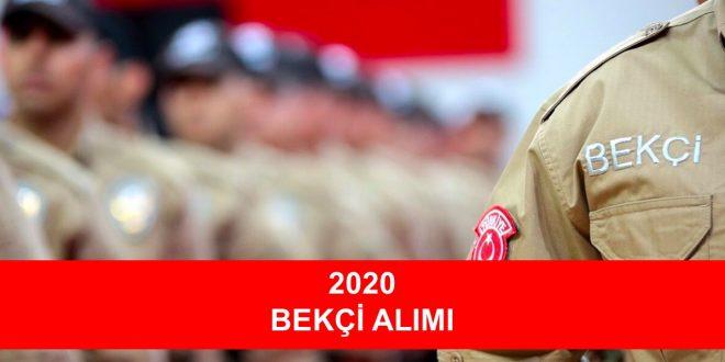 2020 bekci alimi