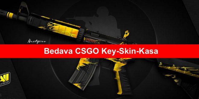 Bedava CSGO Key Skin Kasa