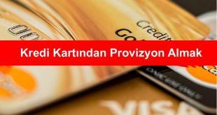Kredi Kartindan Provizyon Almak