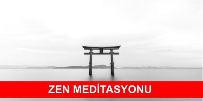 zen meditasyonu