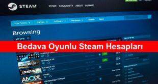 Bedava Oyunlu Steam Hesaplari