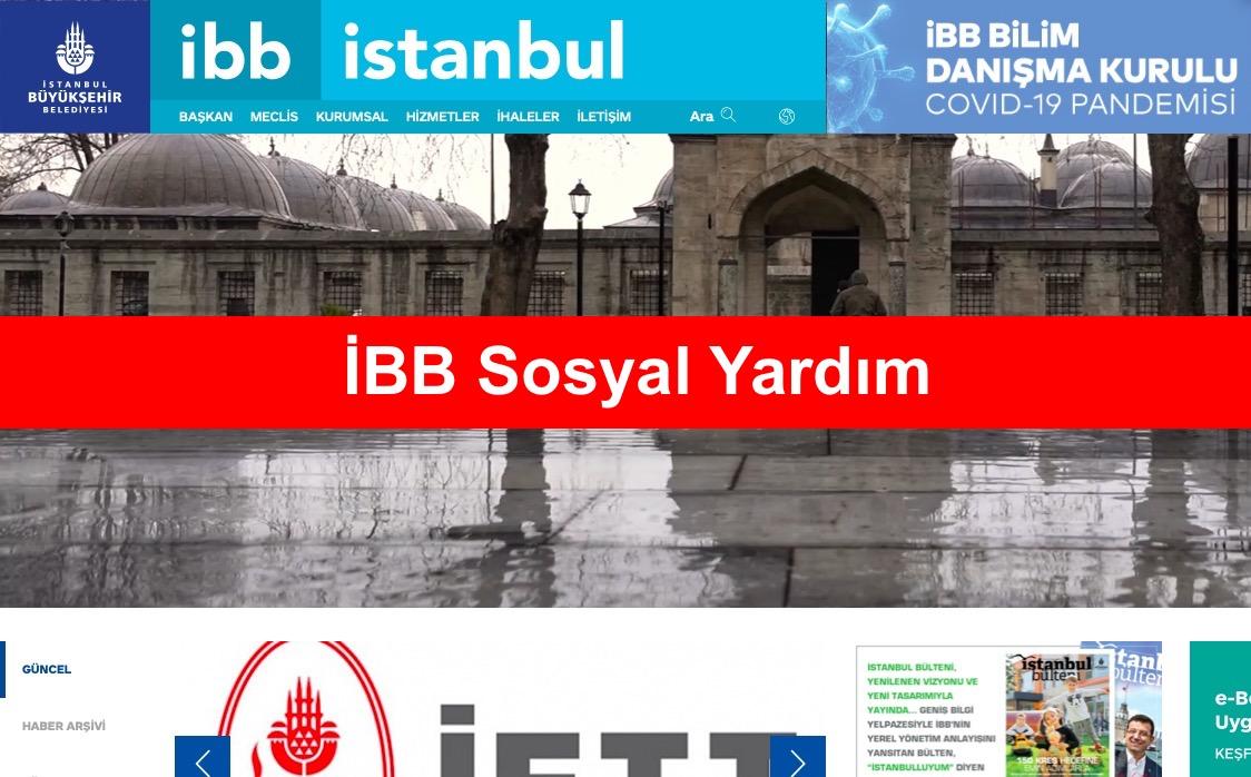 IBB Sosyal Yardim