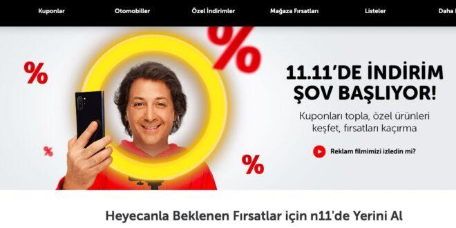 N11 11.11 2020 Kampanyasi ve Indirim Kuponlari