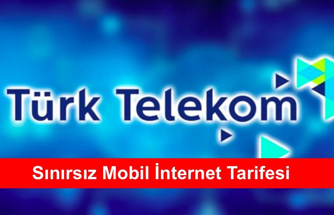 Sinirsiz Mobil Internet Tarifesi