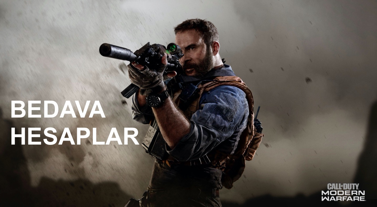Call Of Duty Modern Warfare Bedava Hesaplar