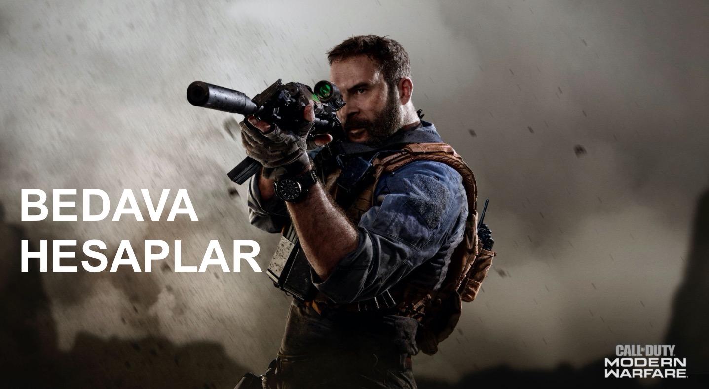 Call Of Duty Modern Warfare Bedava Hesaplar