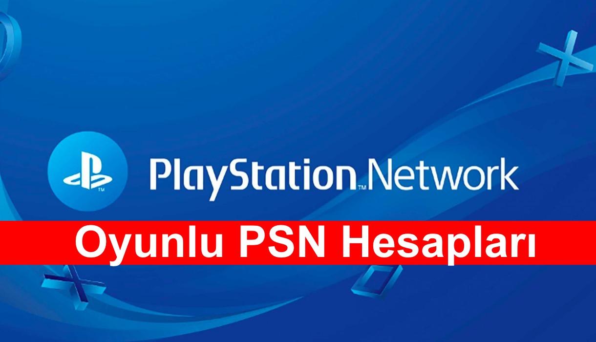 Oyunlu PSN Hesaplari