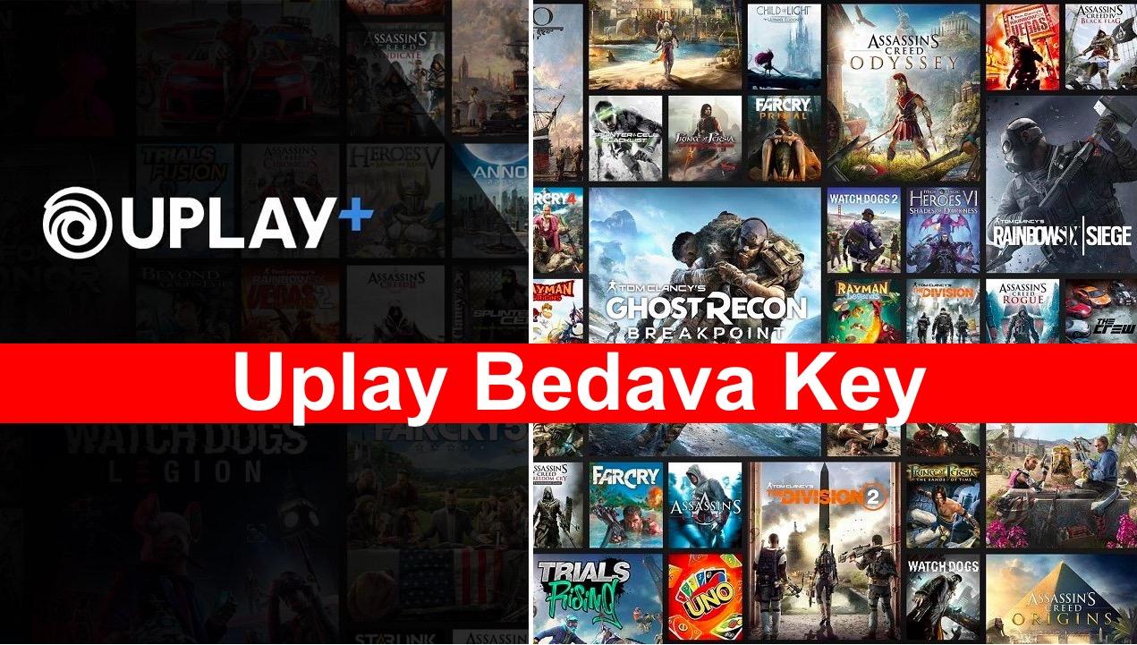 Uplay Bedava Key